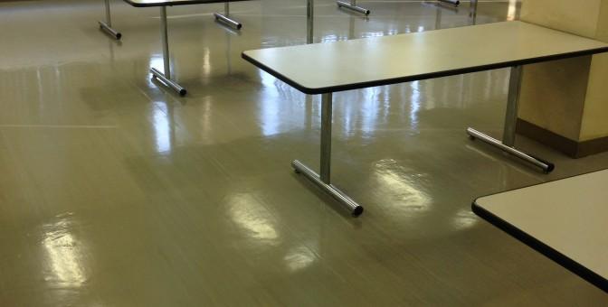 10年以上の床の汚れもキレイにします。の画像
