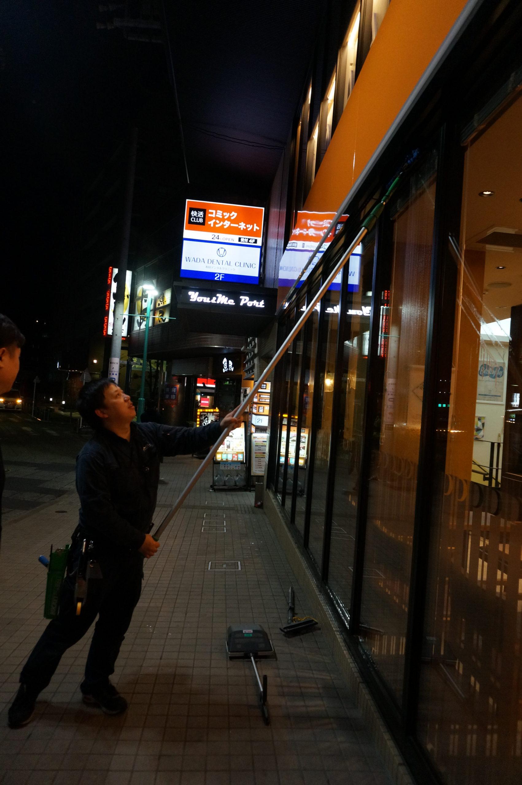 お洒落カフェの定期清掃~!