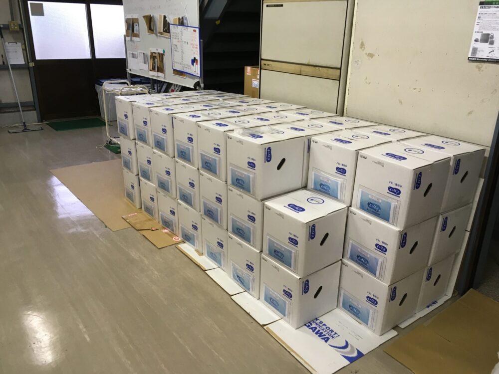 7月度のピカリナ出荷15,000ℓ